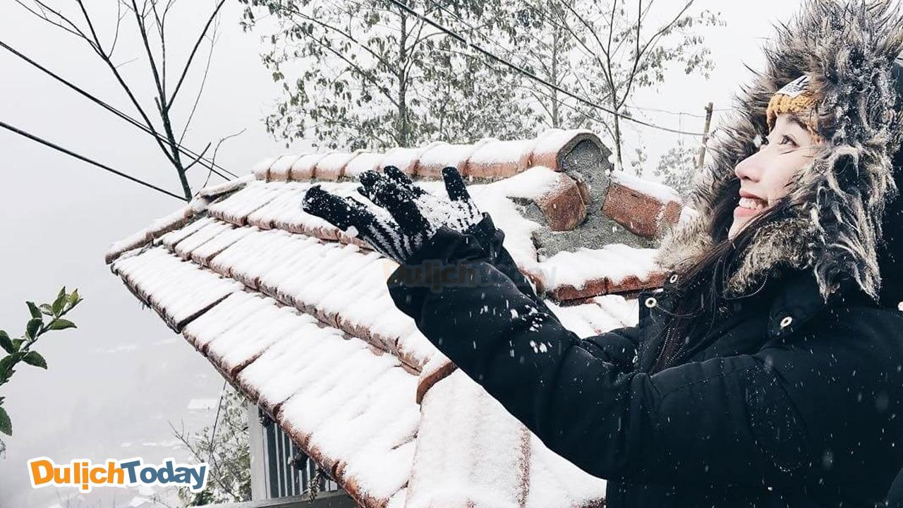 Ngắm tuyết rơi ở Sapa tháng 12