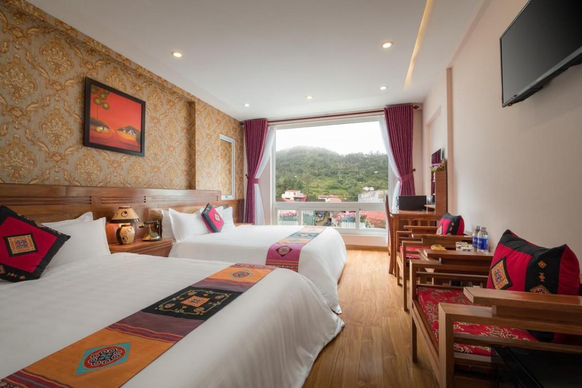 khách sạn luxury sapa, Khách sạn luxury Sapa ngắm view thung lũng cực đẹp