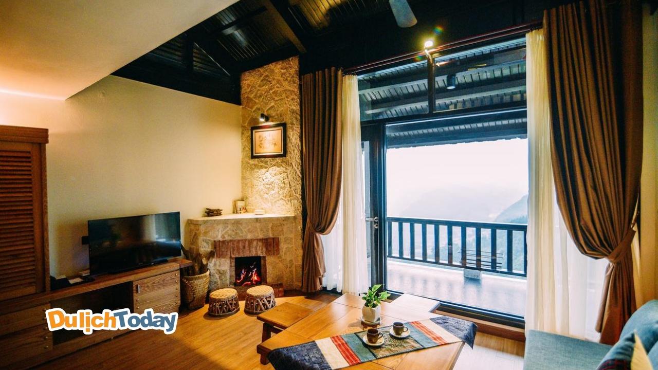 Ưu tiên lựa chọn phòng nghỉ có lò sưởi khi lên Sapa vào tháng 12